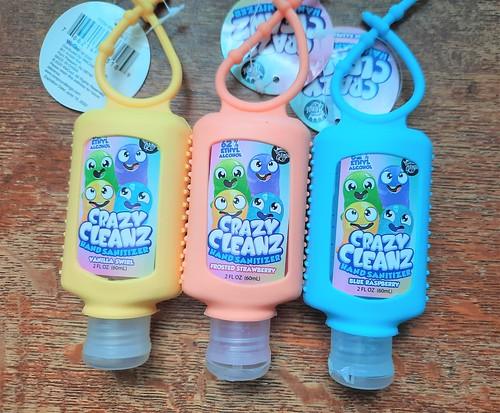 Crazy Cleanz Hand Sanitizers #MySillyLittleGang