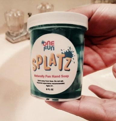 Splatz Hand Soap #MySillyLittleGang