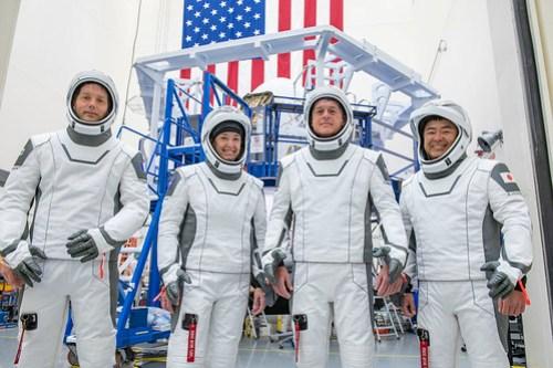 SpaceX Crew-2 portrait