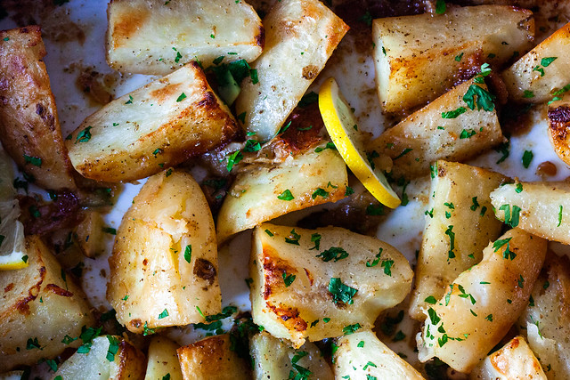 lemon potatoes