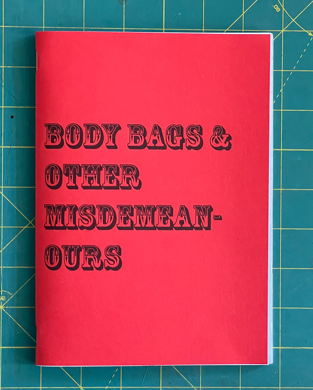 Cover of Body Bags & Other Misdemeanours