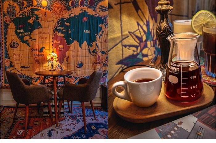 台中西區咖啡廳 | 睦舍 Neighbor,自家烘焙咖啡豆,很有異國風情的咖啡廳。