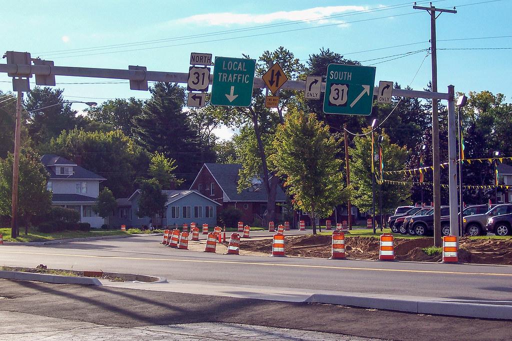 Chippewa Ave. to SB Michigan St.