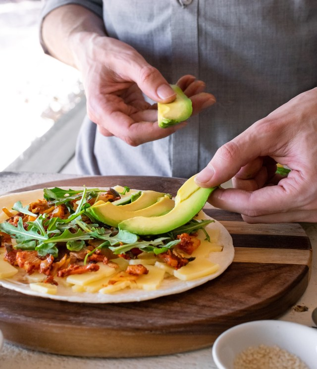 use ripe avocados for the creamiest texture