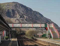 Penmaenmawr Mountain from Penmaenmawr Station