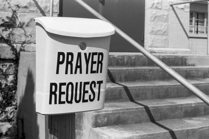 Prayer mail