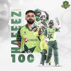 Hafeez 100 T20s