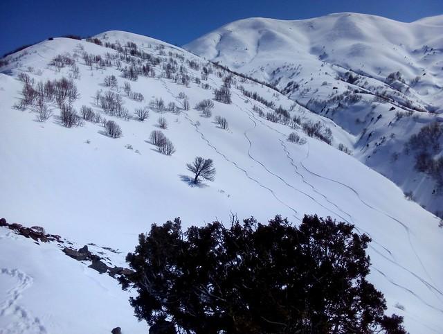 The skiing between Çirişli and Çirişli Geçidi, Çat İlçesi by bryandkeith on flickr