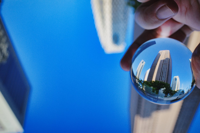 worlds in glass ball