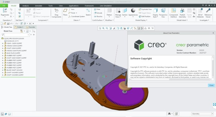 Working with PTC Creo 8.0.0.0 full