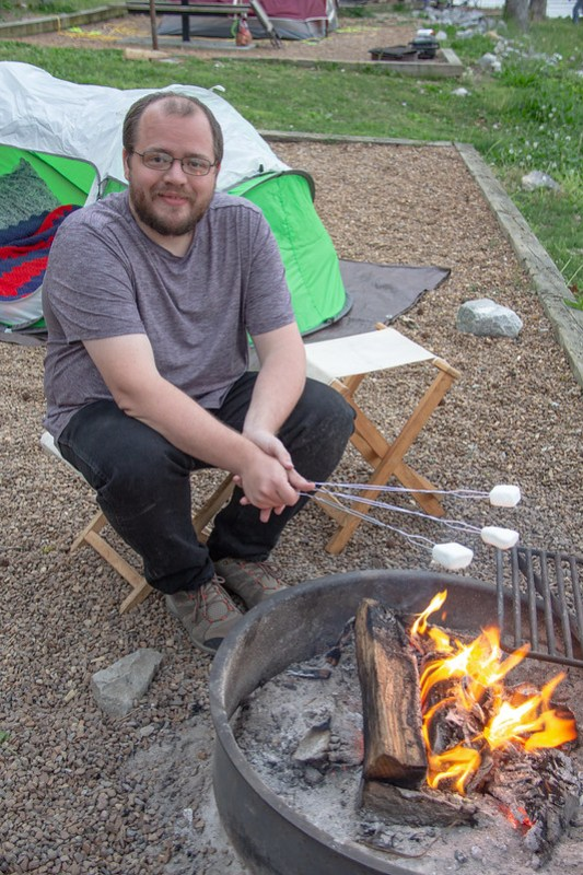 Camping at Chester Frost Park4