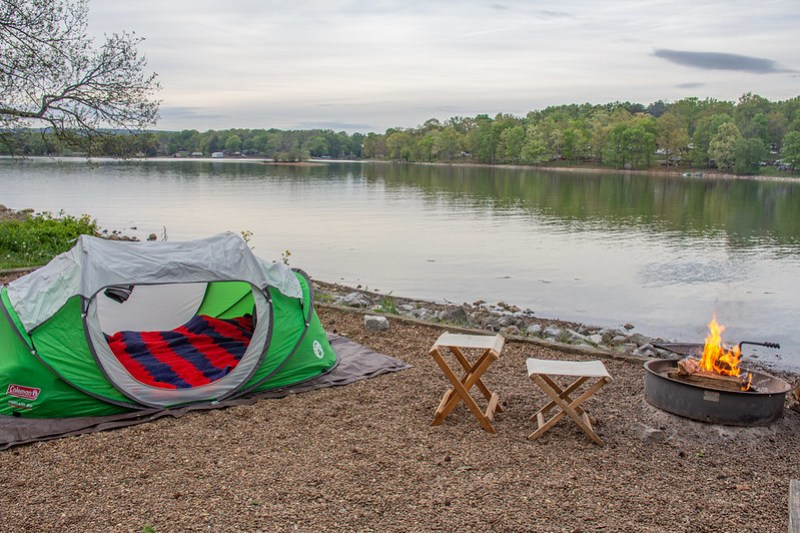 Camping at Chester Frost Park1