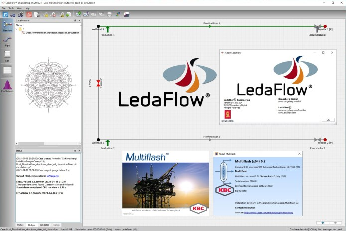 Working with Kongsberg LedaFlow Engineering 2.6.260.024 full