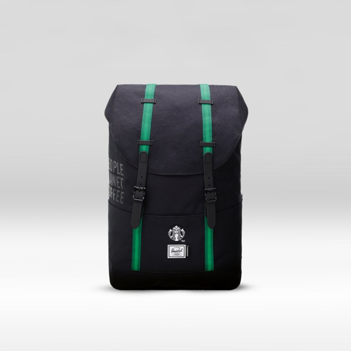 The reSupply STARBUCKS® X Herschel Supply Co. Retreat Backpack (19.5L)