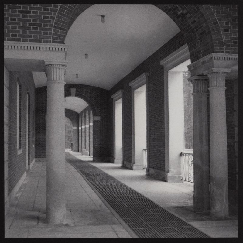 Walkway, Roosevelt Baths (Toned Kallitype)
