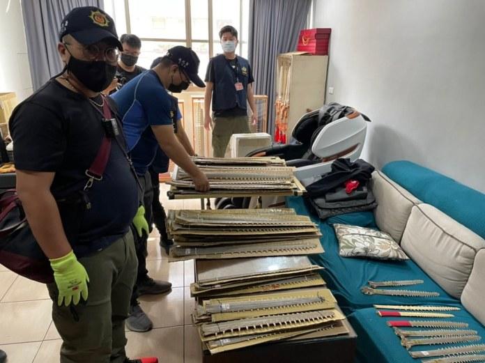 照片1。海巡署偵防分署臺南查緝隊提供。