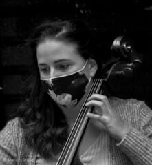 Virginia del Cura Miranda, Violonchelista