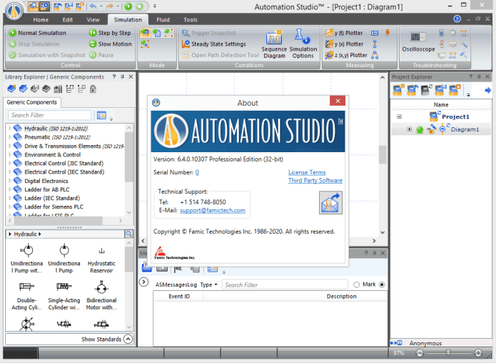 Working with Automation Studio P6.4 SR3 full