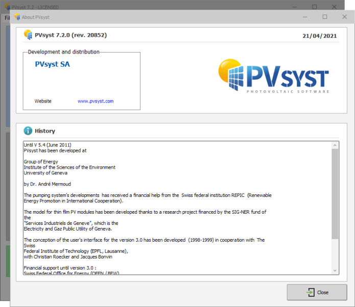Working with PVsyst Professional 7.2.0 full