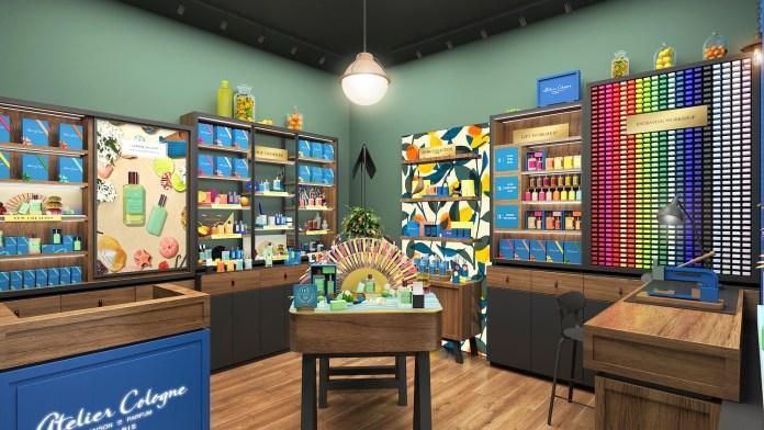 Atelier Cologne_Macau Venetian Store Rendering_Interiror (3)