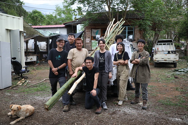 茶山部落採集/獵寮試做:走入野地,自然素材隨手隨做