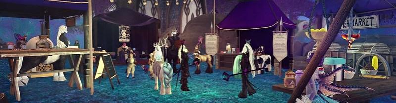 Riverside Market visits Fantasy Faire ♥