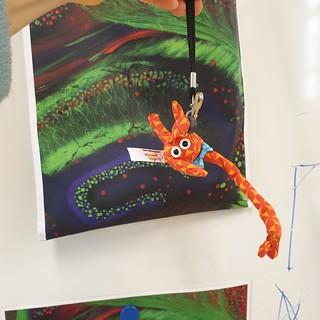 Activité pêche au bébé neurone dans l'hippocampe - Peinture Aurore Boréale (7)