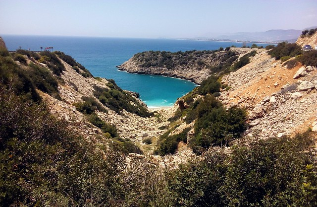 There are a number of nice looking beaches like this between Finike and Beymelek.  I have only been to one of them. by bryandkeith on flickr