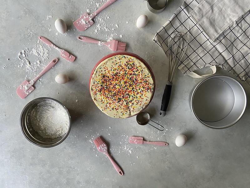 Mother's Day DIY Cake Flatlay 2