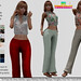 P Dana Mesh Top & Pants ~20 Patterns HUD~ FATPACK-NEW RELEASE - HI THURSDAYS