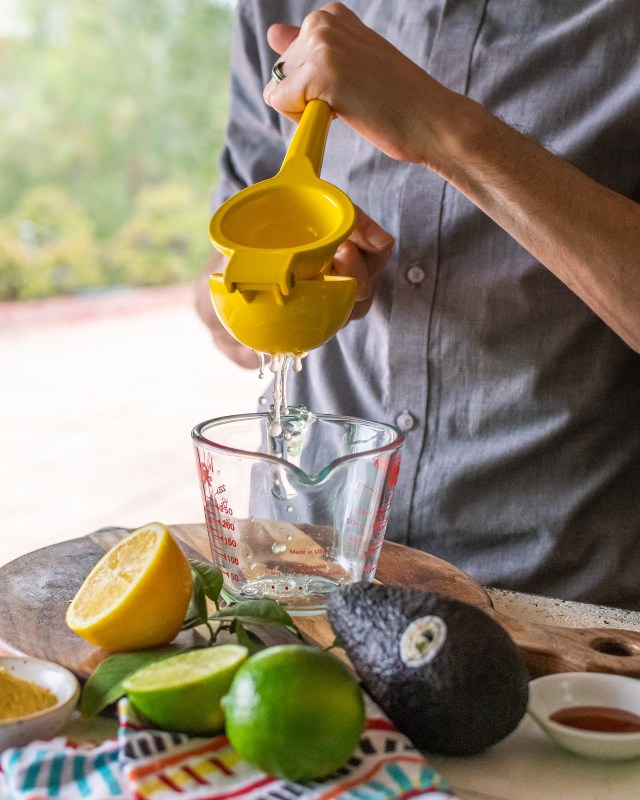 squeezing both lemons and limes for a burst of citrus flavor