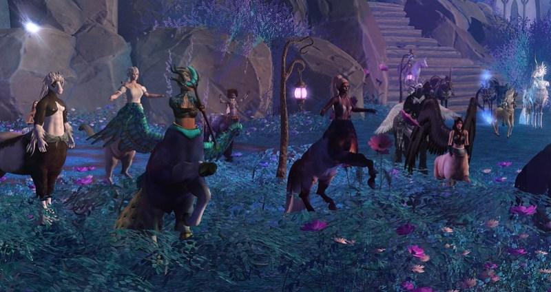 Centaur Parade Fantasy Faire 2021