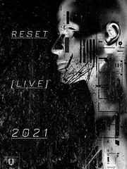 """Reset Records - Custom Promo Flyer [3 - Alt.] for June 2021 Event"""