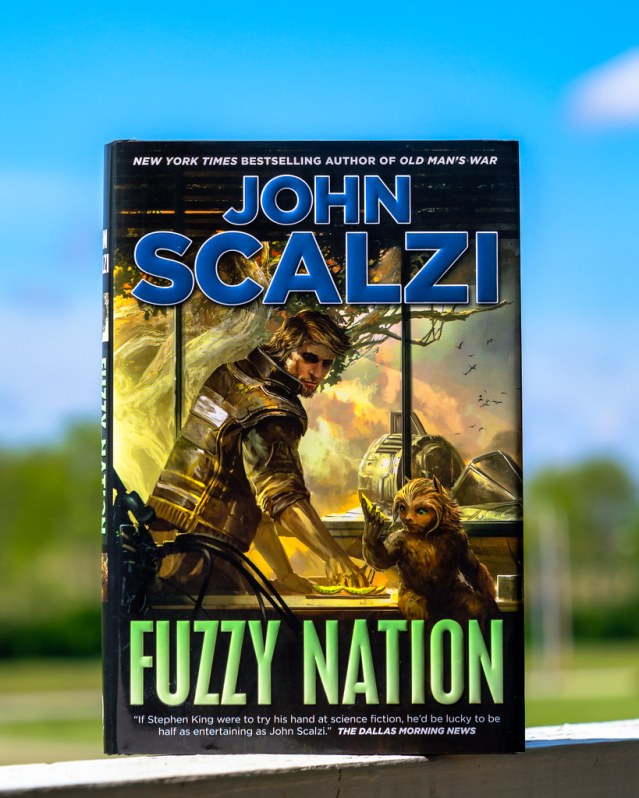 Fuzzy Nation, the book