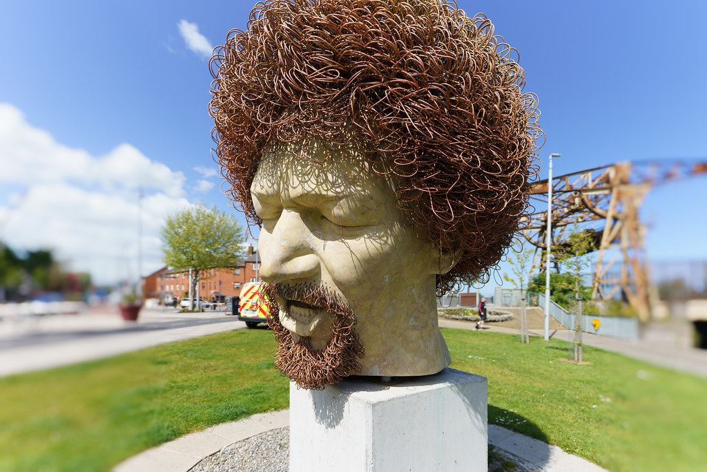 LUKE KELLY'S HEAD [WAS VANDALISED SEVEN TIMES]-191397