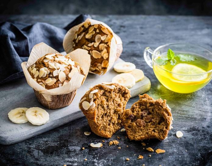 香蕉杏仁鬆餅 Banana Bread _ Almond Muffin_9
