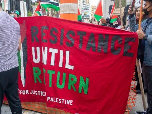 Anti-Israel Protest May 11, 2021 NYC