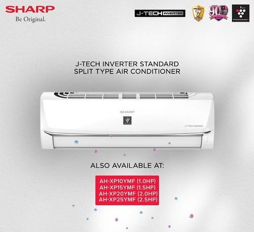 SHARP-J-Tech-Inverter-Standard-Split-type-air-conditioner