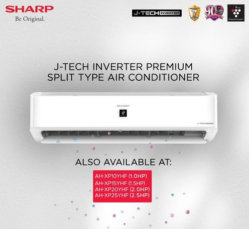 SHARP-J-Tech-Inverter-Premium-Split-tyle-air-conditioner