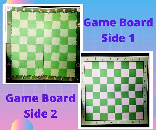 Story Time Chess gameboeard #MySillyLittleGang