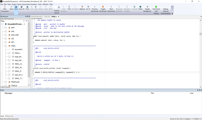 Working with IAR Embedded Workbench for 8051 V10.10.1 full