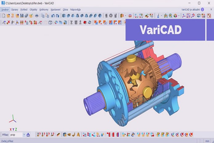 Working with VariCAD 2021 2.02 full license