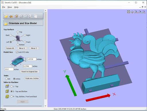 Working with Vectric Cut3D 1.110 full