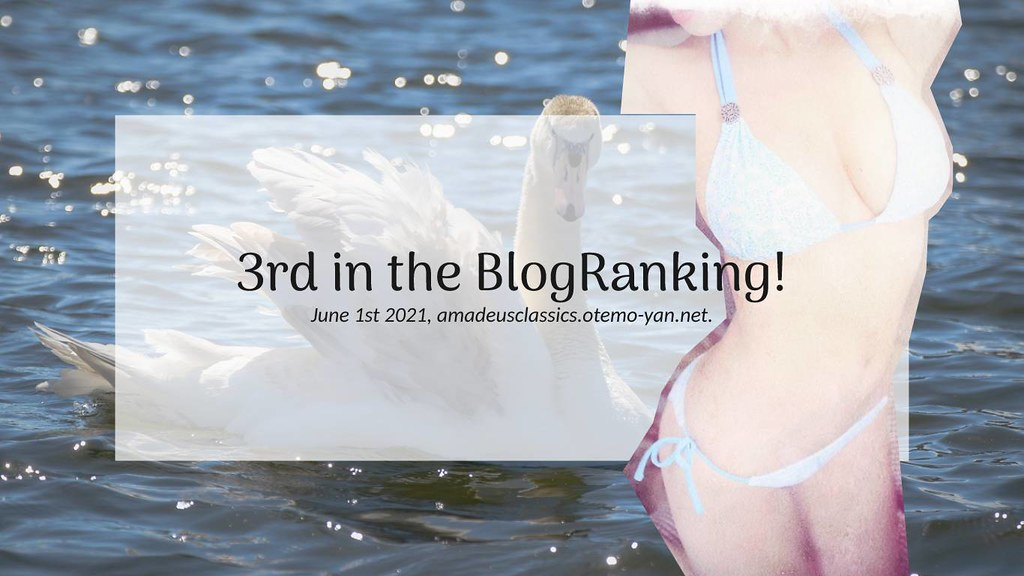 3rd in Blogranking