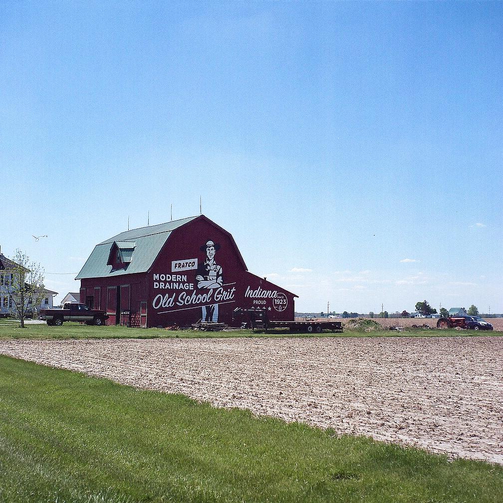 Michigan Road farm