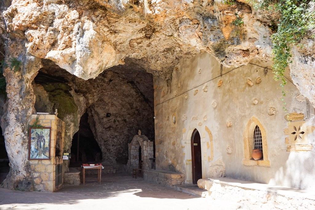 Pyhän Johanneksen erakkoluola, Kreeta