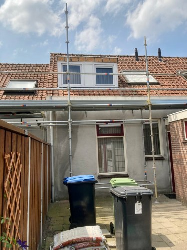 Roof to be renovated next week