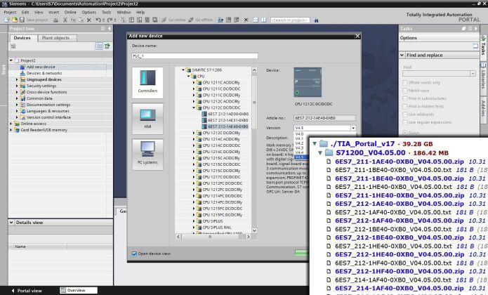 Working with Siemens Simatic TIA Portal v17.0 x64 full