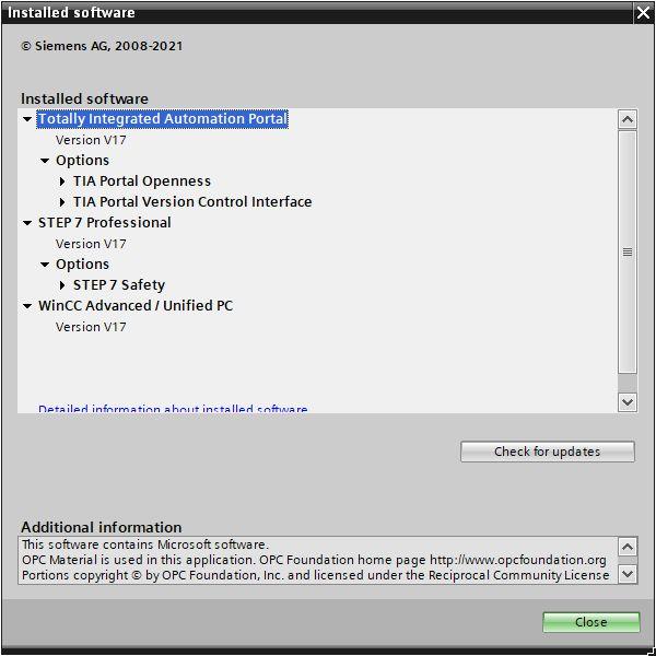 Siemens Simatic TIA Portal v17.0 x64 full