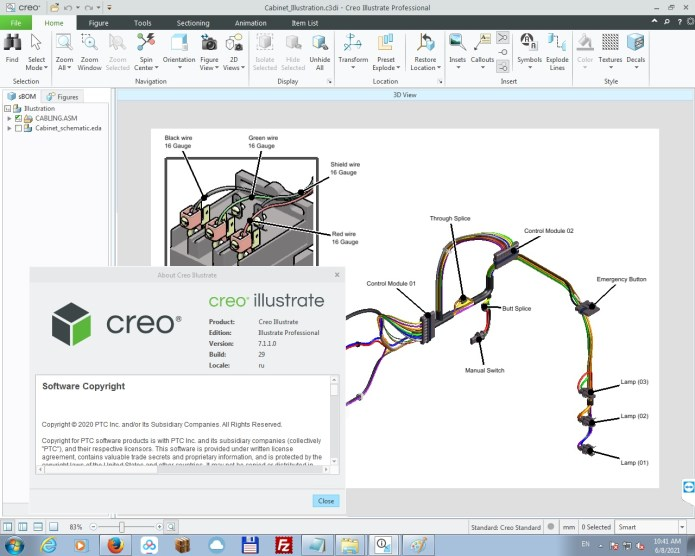 Working with PTC Creo Illustrate 7.1.1.0 full